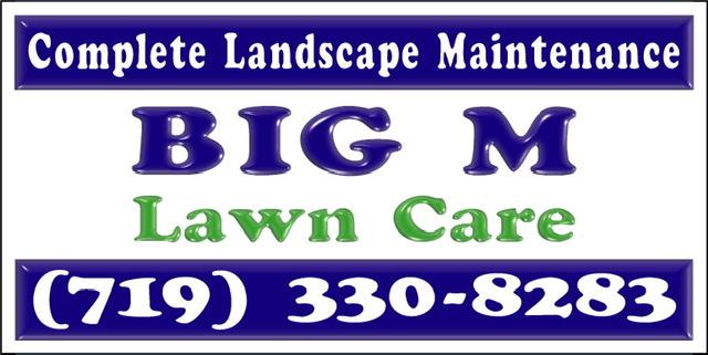 Big M Lawn Care